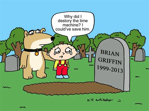 rip brian griffin by djgames on deviantart