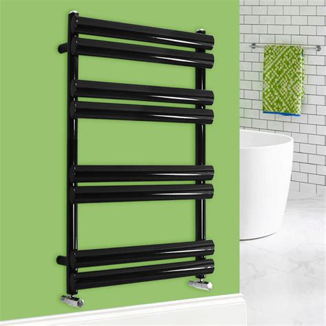 central heating towel rails bathrooms designer oval column bathroom heated towel rail radiator