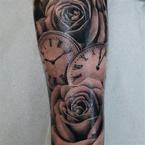 pocket watch tattoos forearm pocket tattoos pictures www