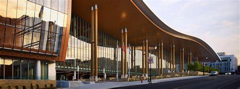 music city center nashville tn lighting design by cm music city center kovach building enclosures