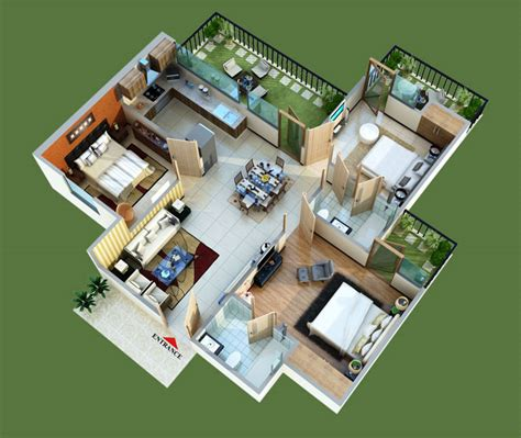 Floor Plan Bd Green Home Pvt Ltd Mahaluxmi Green House Design Plan In 3d