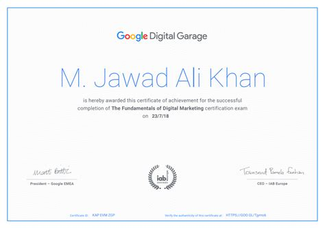 Digital Marketing Certificate Programs by 22 Free Top Marketing Certifications