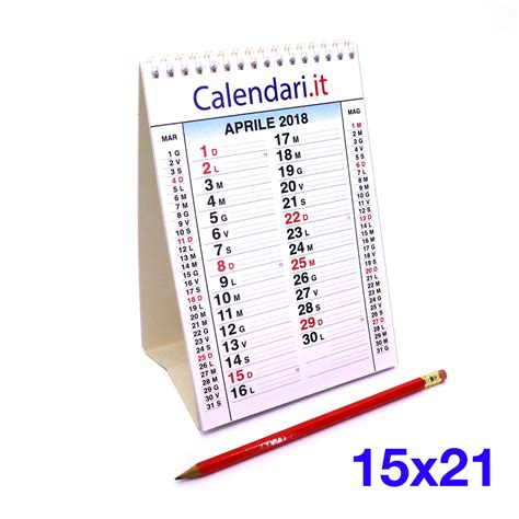 calendario tavolo calendario 2018 tavolo a 3 mesi a piramide calendari it