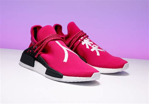 Nmd Human Race Friends And Family stadium goods pharrell adidas nmd shock pink auction for