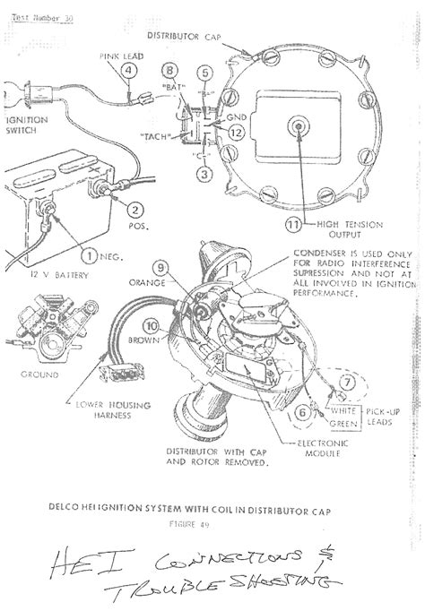 chevy hei distributor wiring wiring diagram with description