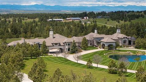 40 000 square foot colorado mega mansion re listed homes