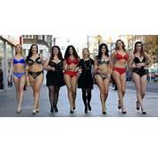 Plus Size Models Strip Off To Launch Debenhams New