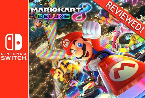 Nintendo Switch Gray Botw Mario Kart 8 Deluxe mario kart 8 deluxe nintendo switch review an essential purchase on release daily