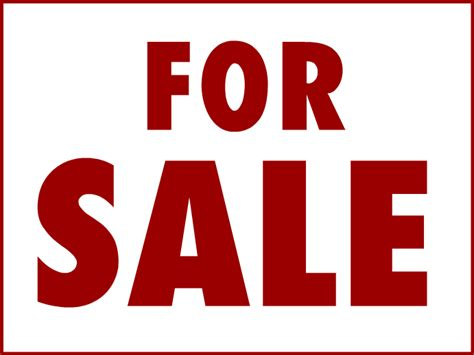 sale sign template for sale sign templates clipart best