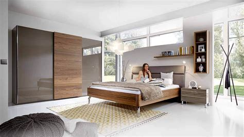 moderne schlafzimmer wandfarbe grau rosa
