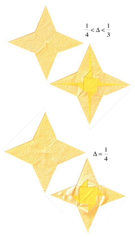4 Pointed Origami - how to make a 2d four pointed origami page 15