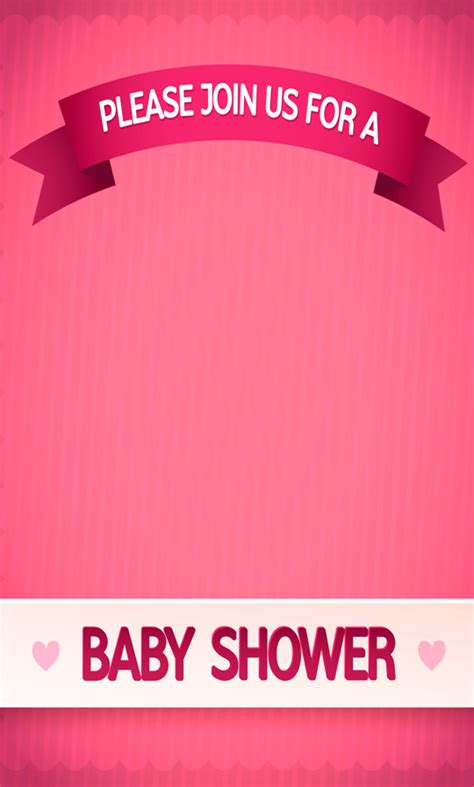 %name baby games to play   Baby Shower Invitation Maker   Android Apps on Google Play