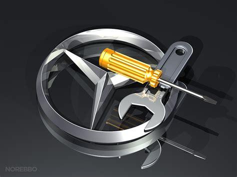 mercedes repair mercedes logo illustrations norebbo