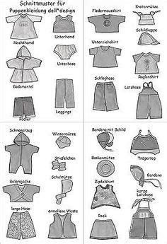Diy Fashion Projects Puppenkleidung Gratis Schnittmuster Und Kostenlose
