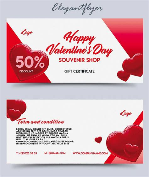 gift card templates psd 30 free psd professional gift certificates templates for