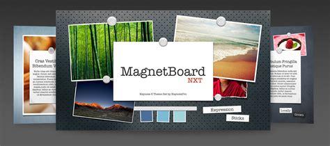 keynote theme space keynotepro keynote themes magnetboard nxt