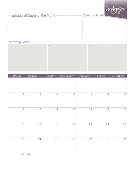 Galerry printable weekly planner 2018 18