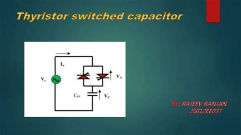 capacitor ppt thyristor switched capacitor ppt