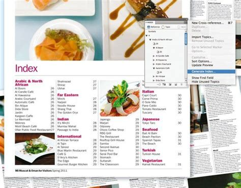 adobe indesign tutorial brochure design a simple index with indesign tutorial computer
