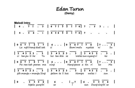 download lagu mp3 edan turun via vallen gambar lirik lagu edan turun not angka lagu edan turun