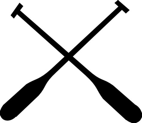 boat and oars clipart rowing oars clip art at clker vector clip art online