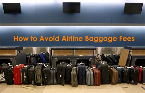 american airline baggage fee travel advice how to avoid airline baggage fees
