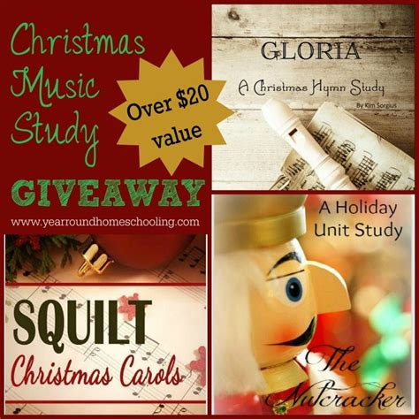 Music Giveaways - christmas music studies giveaway