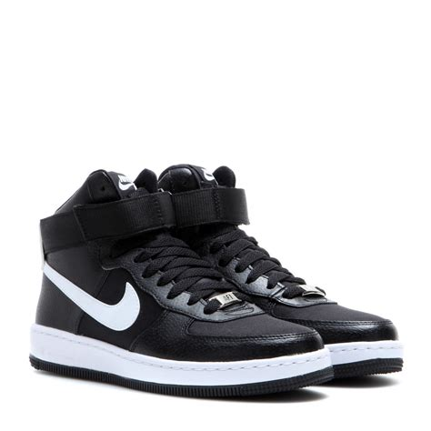 Nike Sneakers 1 nike af 1 ultra mid sneakers in black lyst
