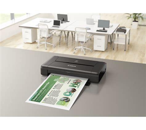 Printer Portable Canon canon pixma ip110 portable wireless inkjet printer deals pc world