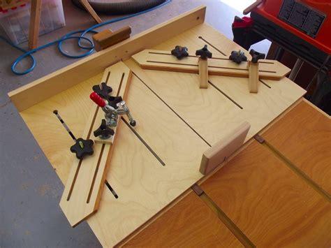 super cross cut table saw sled by jake brain