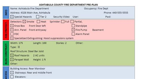 Free Floor Plan Design Tool by Fire Department Pre Plan Form Using Word Firehouse