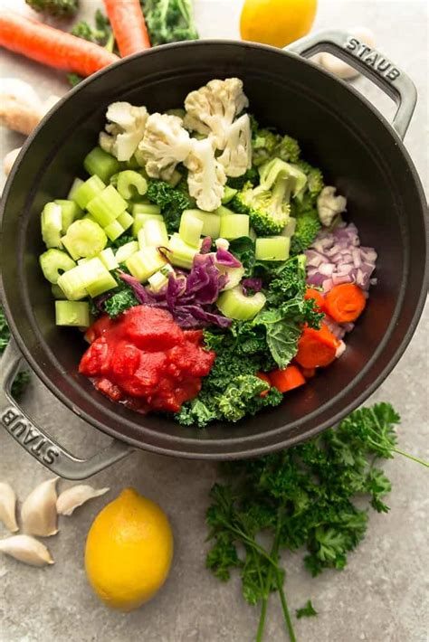 Vegetable Detox by Detox Vegetable Soup Made Sweeter