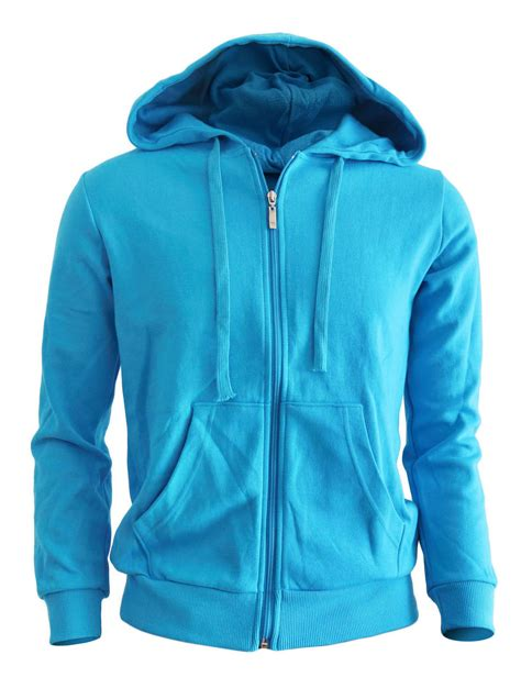 Jaket Hoodie Zipper Size L blue hoodie jacket fashion ql