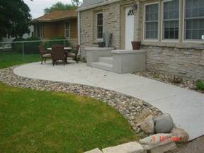 Cement Backyard Ideas Concrete Front Porch Patio Write Your Feedback About