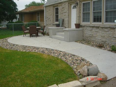 Concrete Front Porch Patio Write Your Feedback About Concrete Backyard Patio
