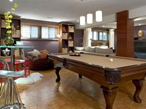 Basement Room Ideas by Basement Rec Room Ideas Hgtv