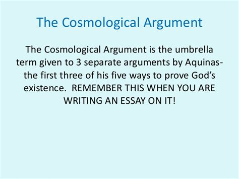 7 Arguments On The View by The Cosmological Argument And Copleston Debate