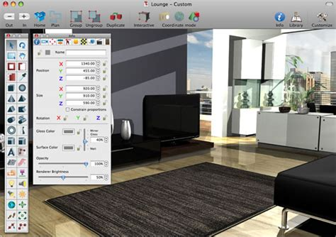 home design 3d software for mac interiors pro features 3d interiors design modeling