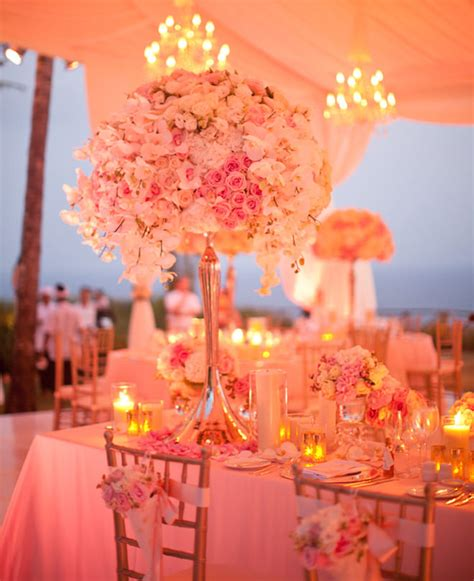 wedding reception flower centerpieces extravagant wedding centerpieces for a lavish reception