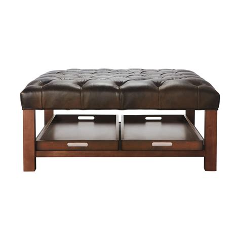 Oversized Ottoman by Oversized Leather Ottoman Coffee Table Coffee Table