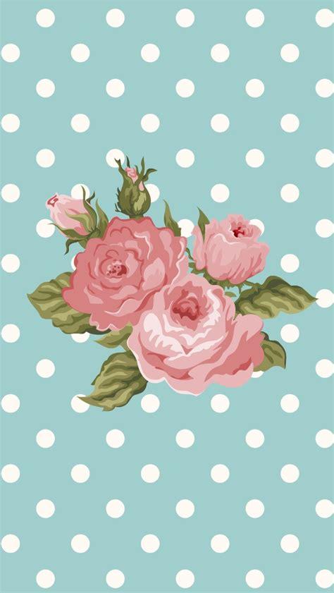 Best Wps220 White N Green Dot Flower Wallpaper Dinding Walpaper iphone backgrounds 5 86