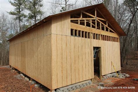 Cheap Shed Siding by Siding Options For Barns
