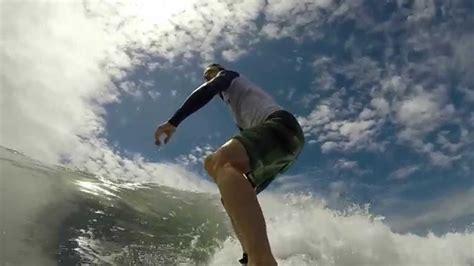 Gopro 3 Di Bali beginner surfing at lembeng sanur bali and motion rec with gopro 3