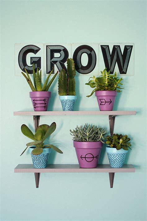 Colorful Indoor Plant Shelf Decoist Indoor Plant Shelves