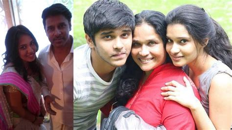 actor raja and his wife actor chiyaan vikram family photos with wife son