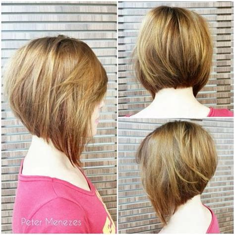 stacked bobs for round faces angled bob cuts for round faces hairstylegalleries com