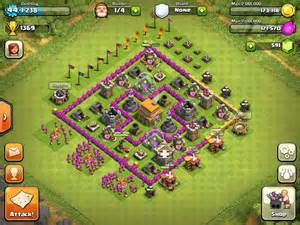 Clash of clans defense strategy town hall level 6 youtube