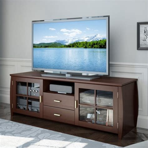 tv bench wood wood tv bench in stained espresso wb 1609