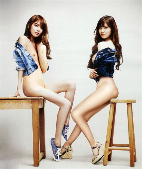 Snsd Sooyoung Seohyun Korean Idol Fake Nude Photo