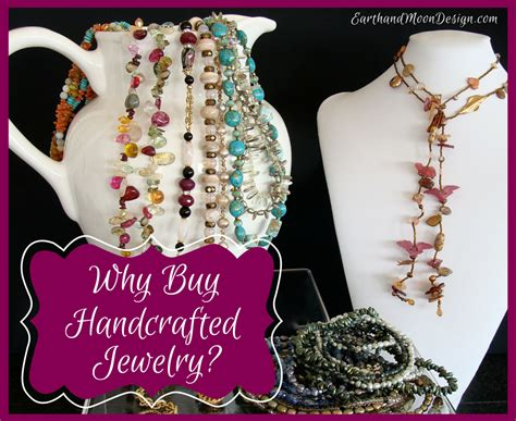 Handcrafted Jewelry Blogs - why buy handcrafted jewelry earth and moon design